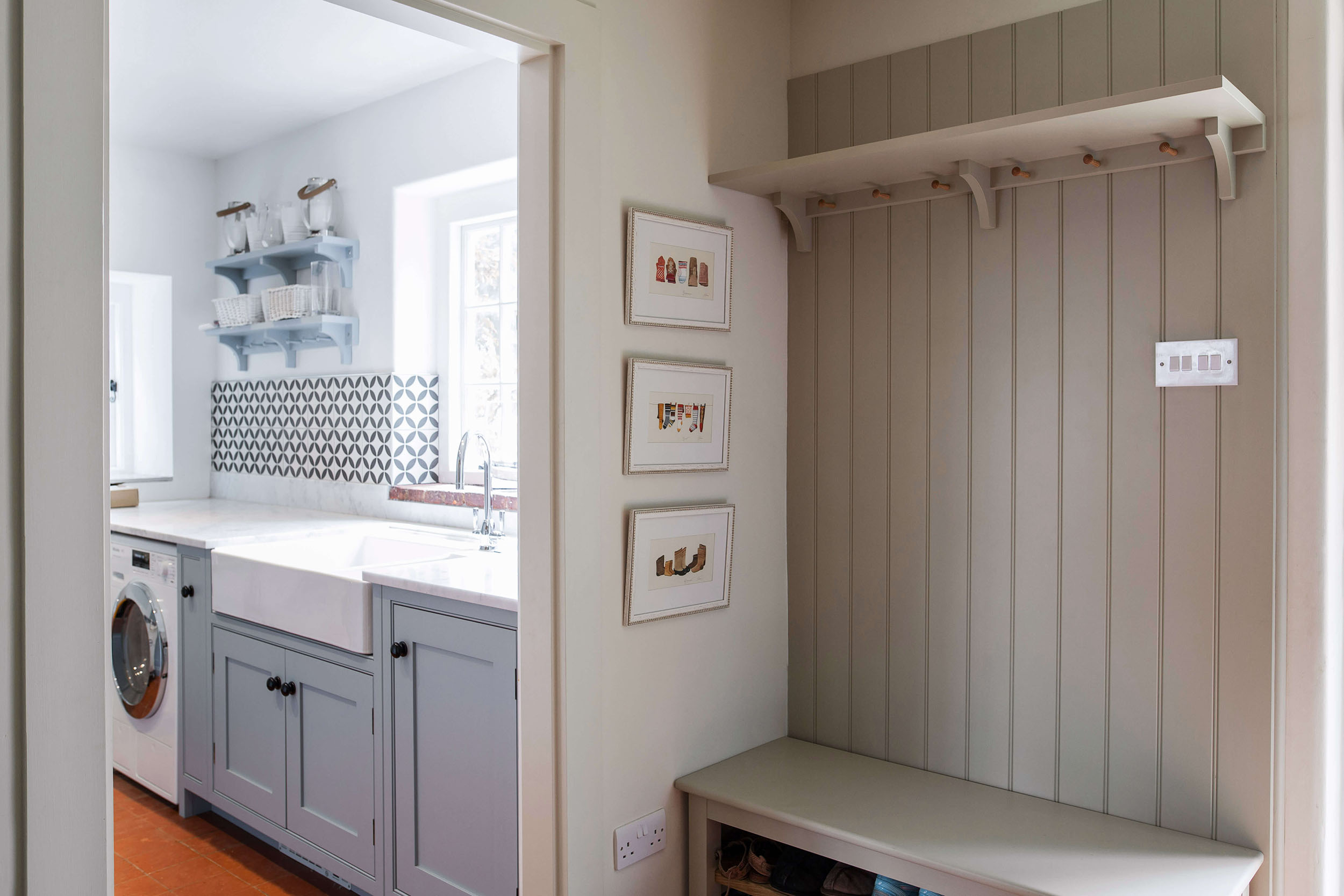 Boot Rooms Handmade Bespoke Storage Designers Burlanes Interiors