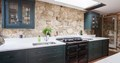 Burlanes Bespoke Kitchen With Black AGA Total Control