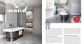 Burlanes bespoke bathroom furniture featured in Kitchens Bedrooms & Bathrooms magazine