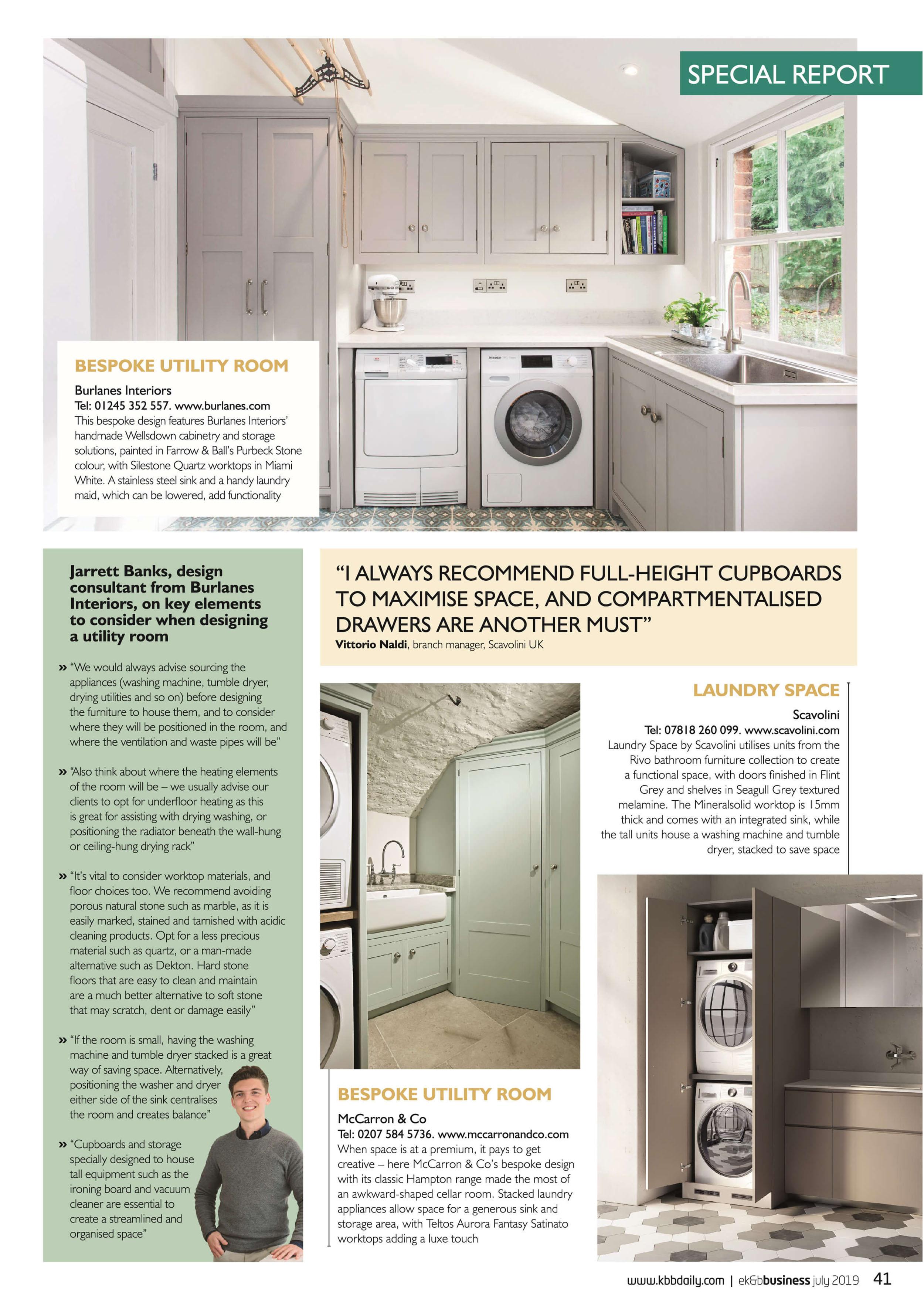 Burlanes Interiors Ek B Business Magazine Utility Feature