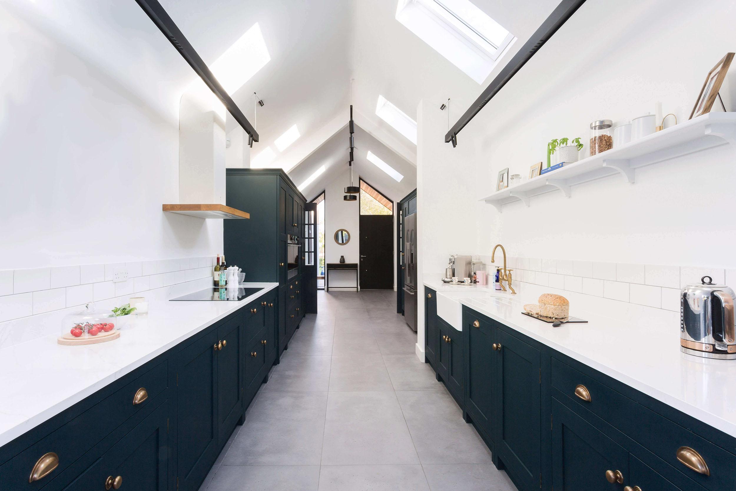 The Contemporary Hoyden Galley Kitchen In Essex Burlanes Blog