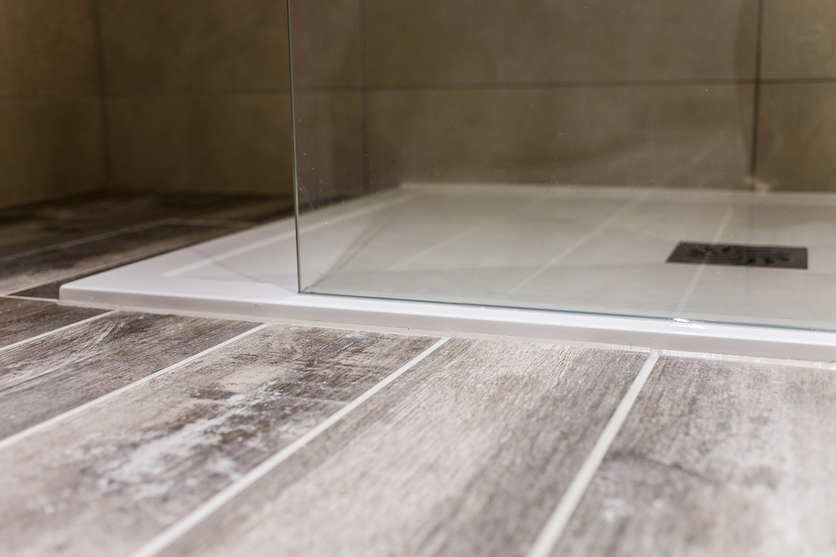slimline shower tray