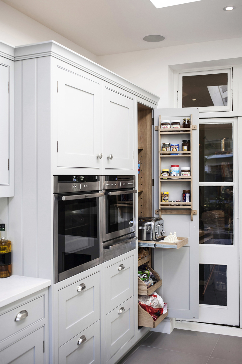Creating space for appliances