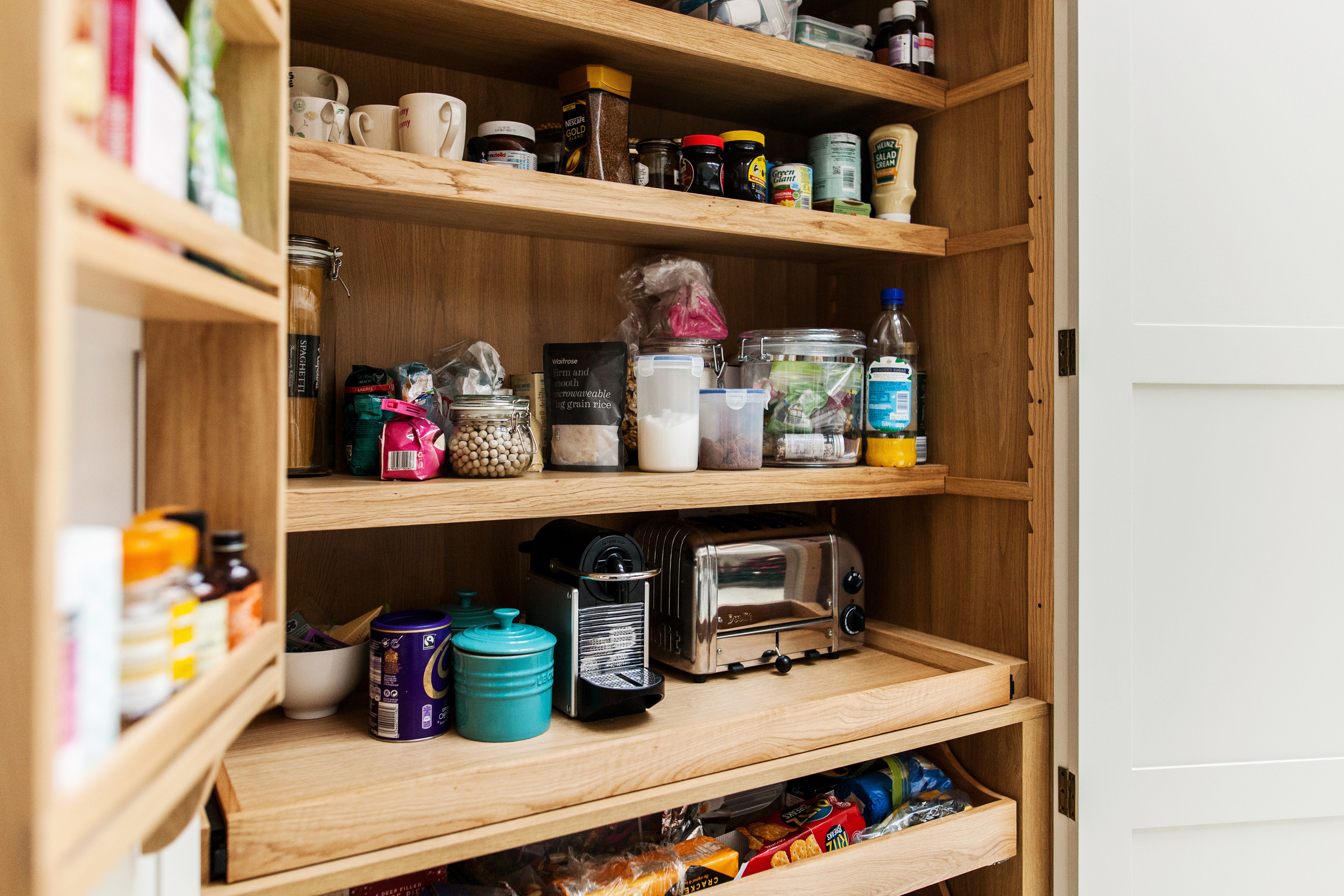 Creating an appliance cupboard