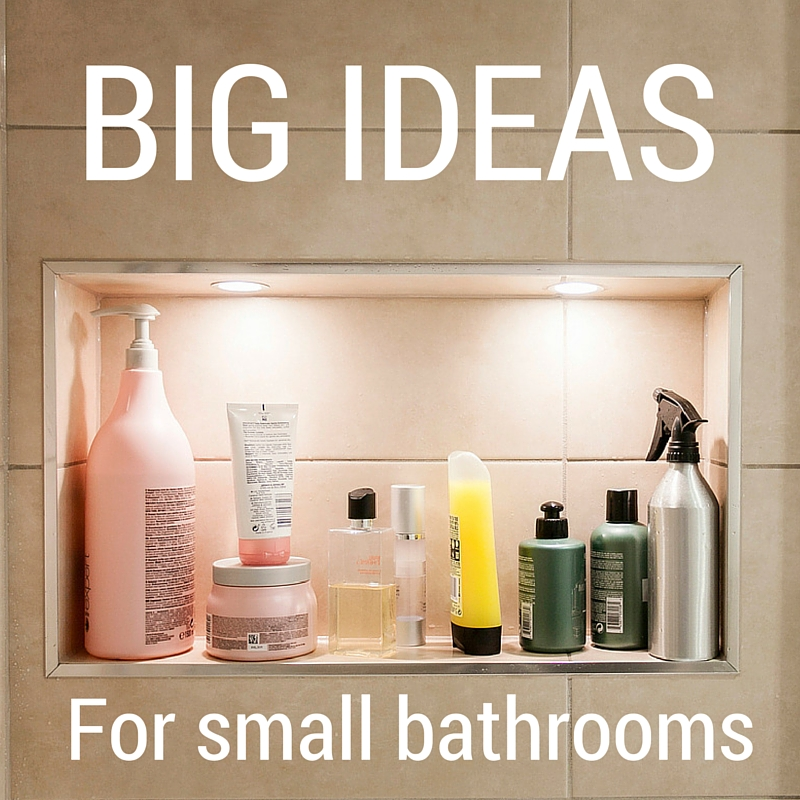 Big ideas for small bathrooms from burlanes interiors
