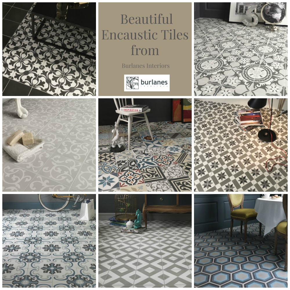 Beautiful Encaustic Tiles from Burlanes