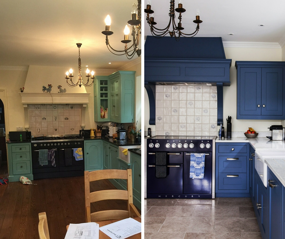 Before and after burlanes kitchen installation