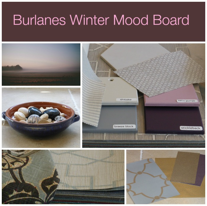 Burlanes Winter Mood Board