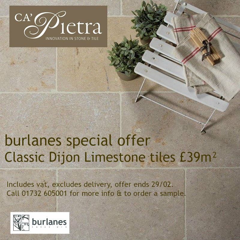 Ca'Pietra tiles - The Classic Dijon.
