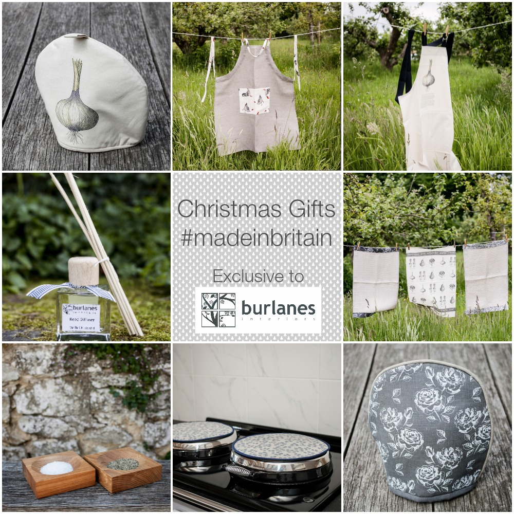 Christmas Gifts made in Britain exclusive to Burlanes.