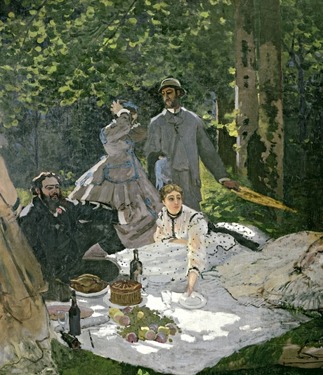 Claude Monet's Luncheon on the grass
