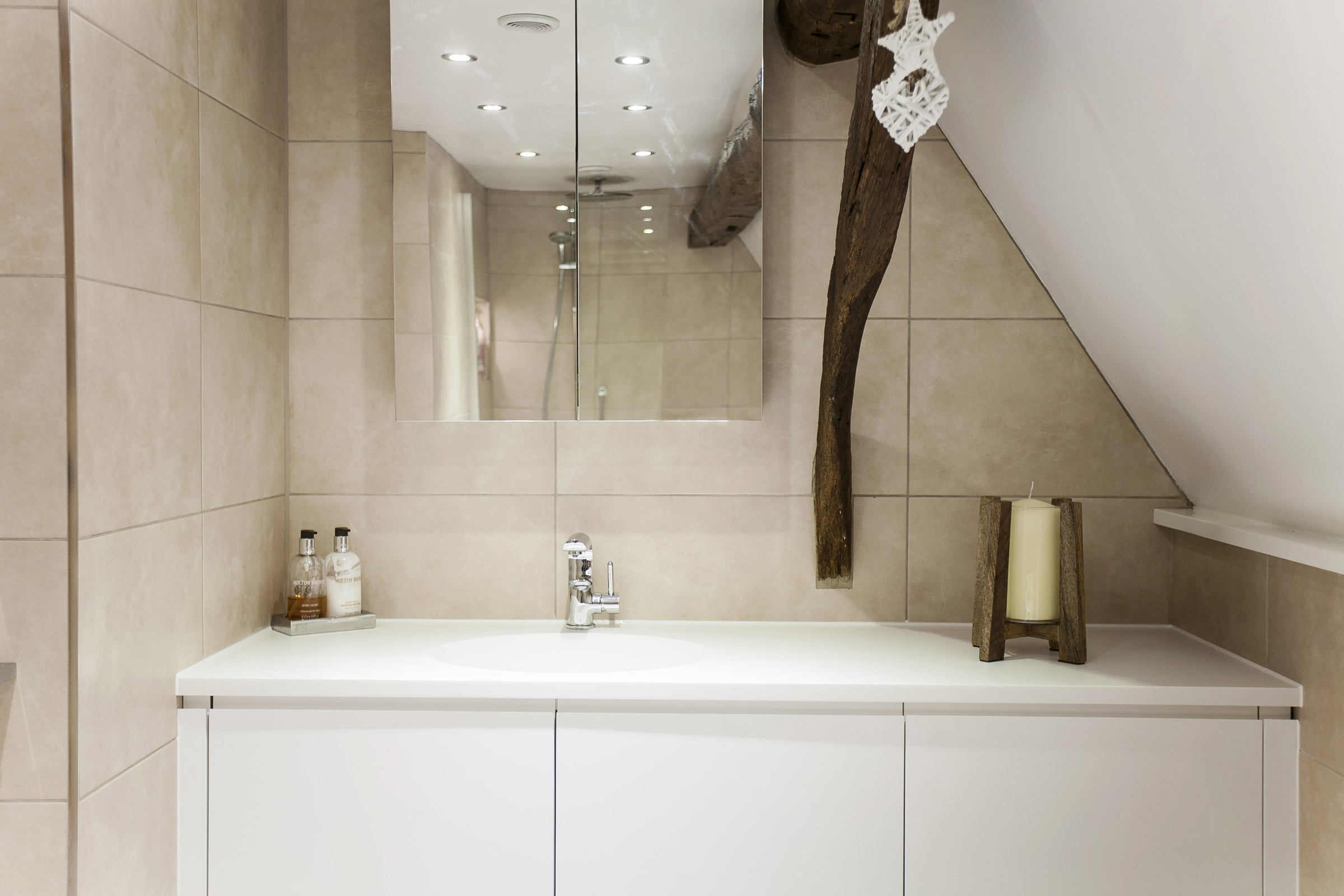 Creative Built In Fitted Bathroom Furniture