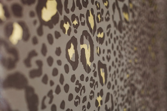 Farrow and ball's beautiful ocelot wallpaper