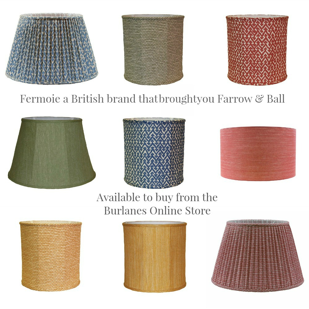 Fermoie lampshades from Burlanes Online Store