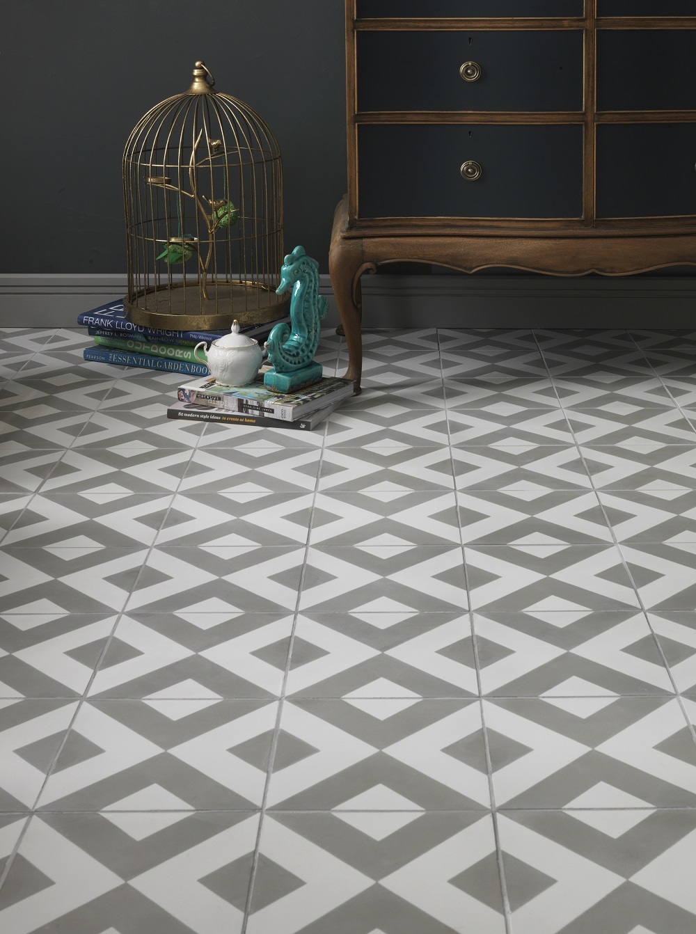 Geometric tile 2016 design trend