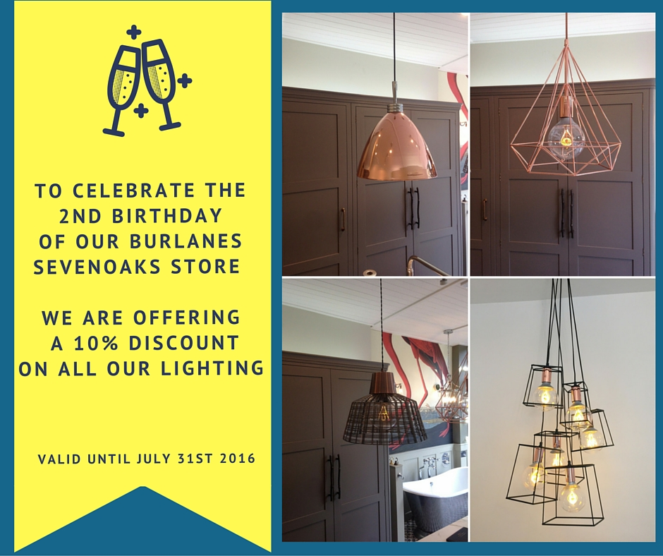 burlanes birthday discount off on industrial lighting