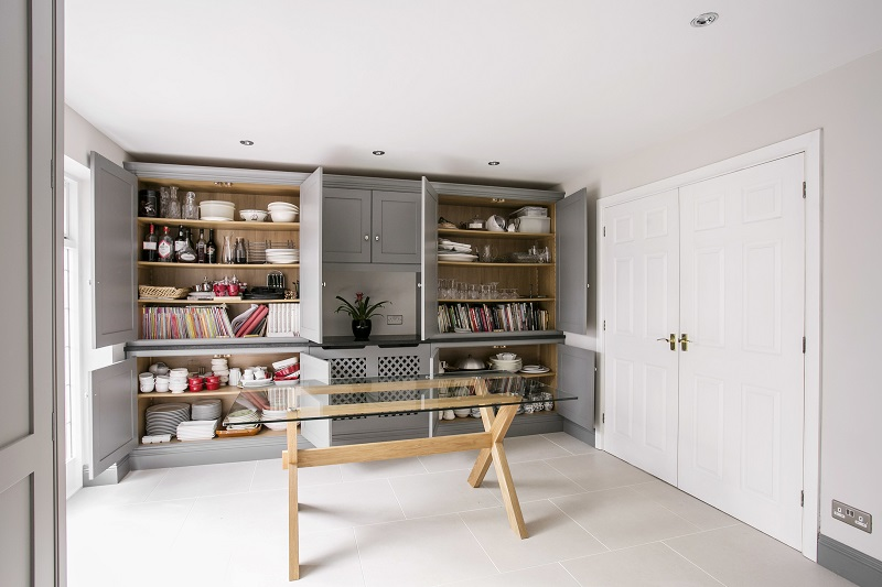 Maximum storage to house china and homewares
