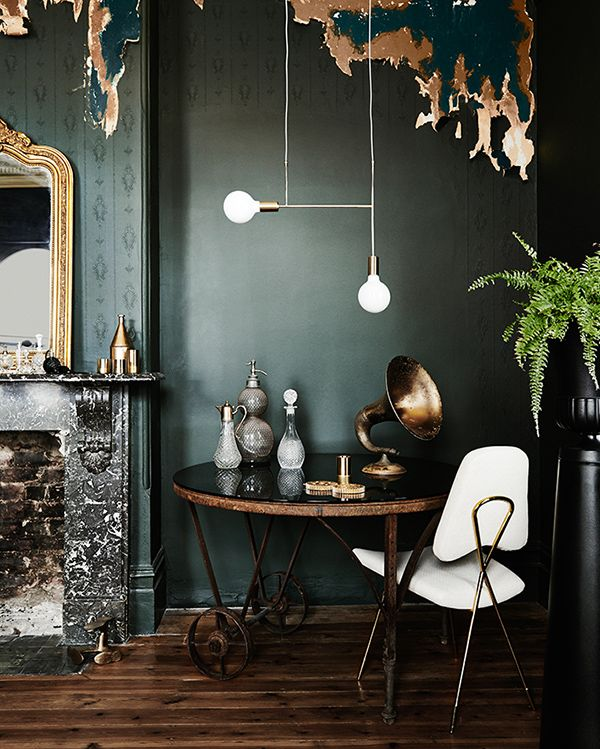 Mixing metallics to create an elegant space