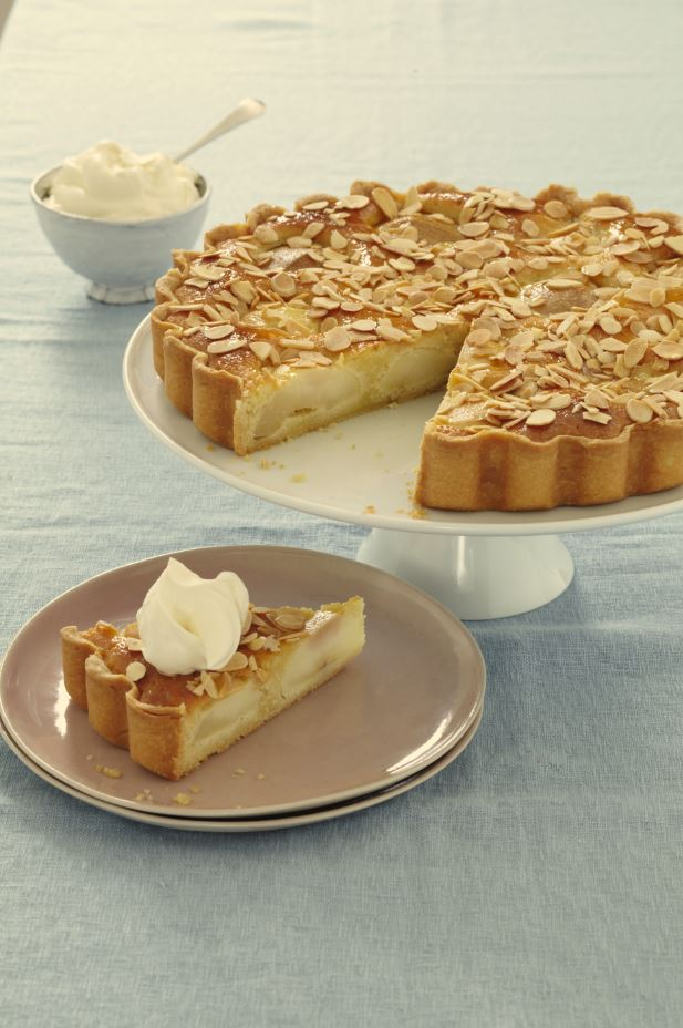 Pear and Almond Frangipane
