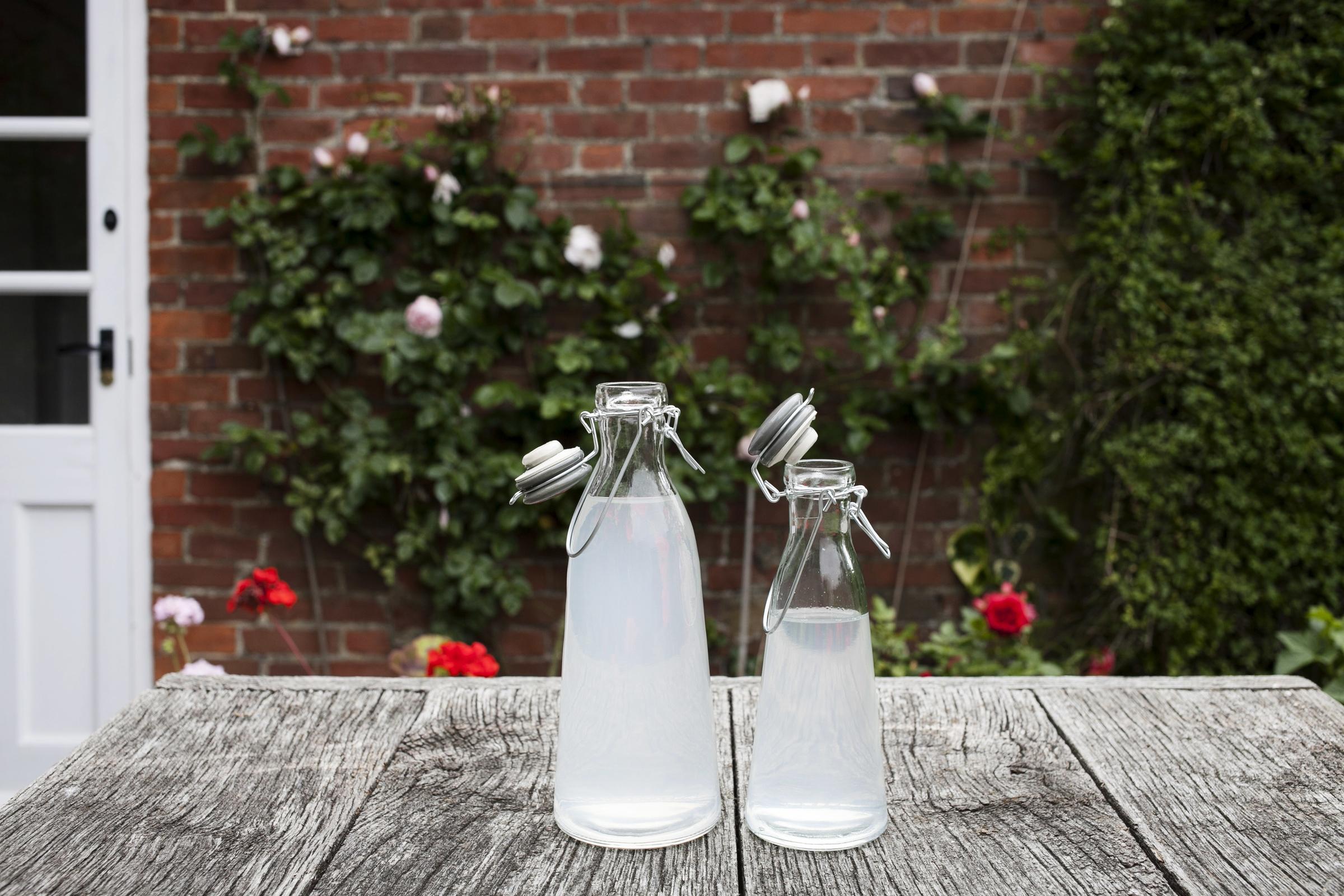 Vintage bottles on Burlanes online store