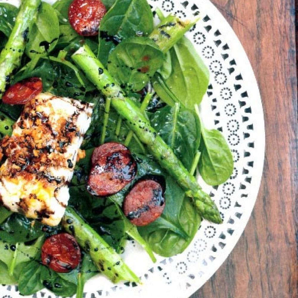 Warm Spring Salad Recipe and Giveaway