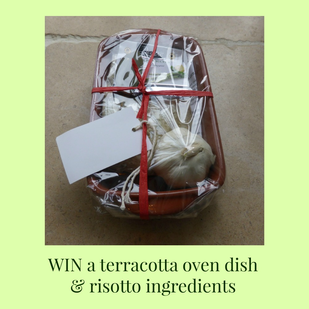 WIN a terracotta oven dish and risotto ingredients