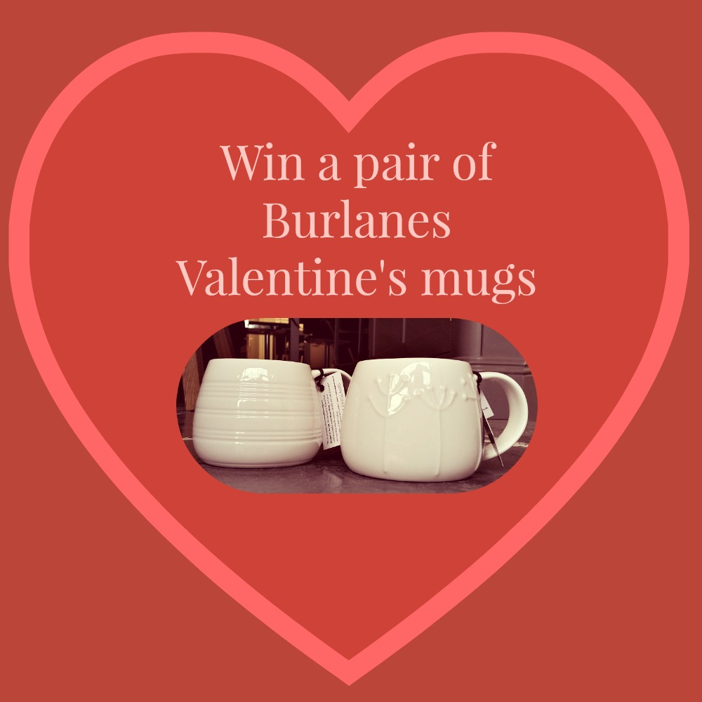 Win a pair of Burlanes Valentine's Mugs
