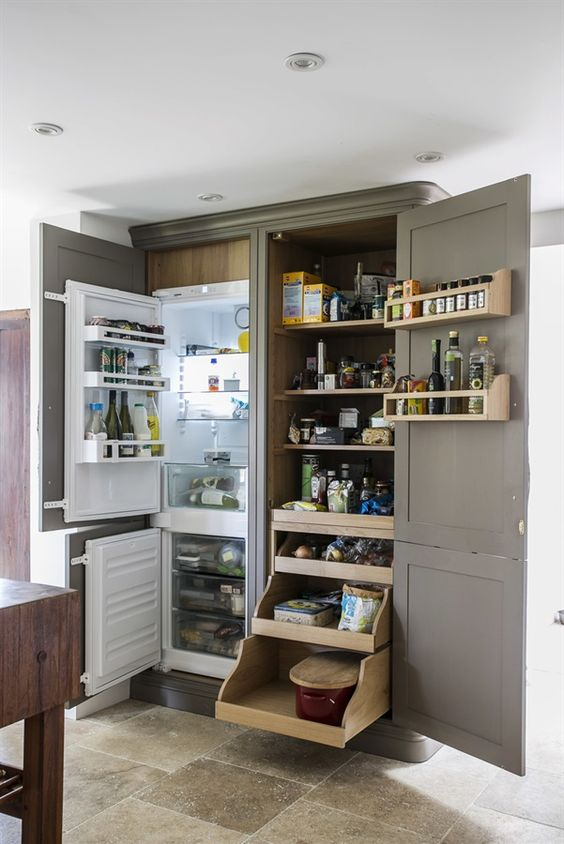 Movable Kitchen Storage