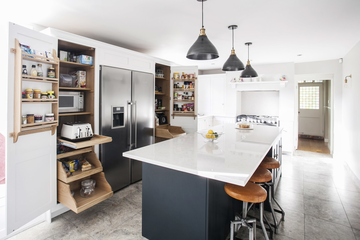 Bespoke Kitchen Larders And Pantries | Burlanes Interiors | Kent and ...