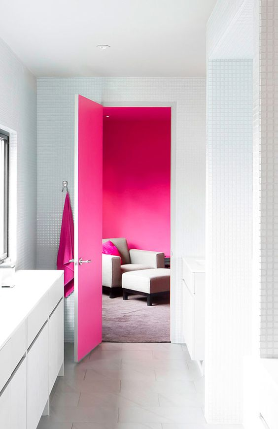 Add a spash of colour to transform your home