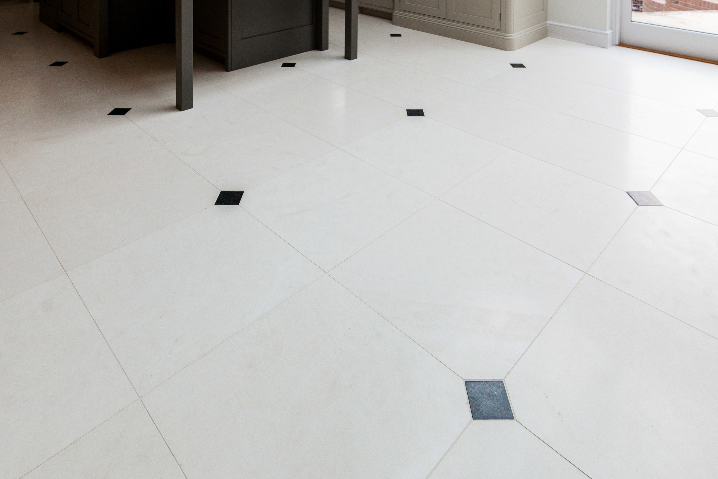 blanc limestone honed Ca'Pietra tiles