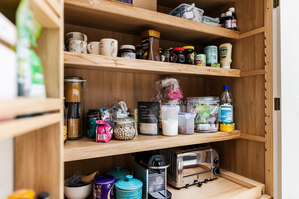 breakfast cupboard