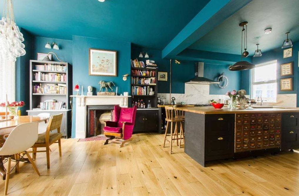 using colour in kitchen design