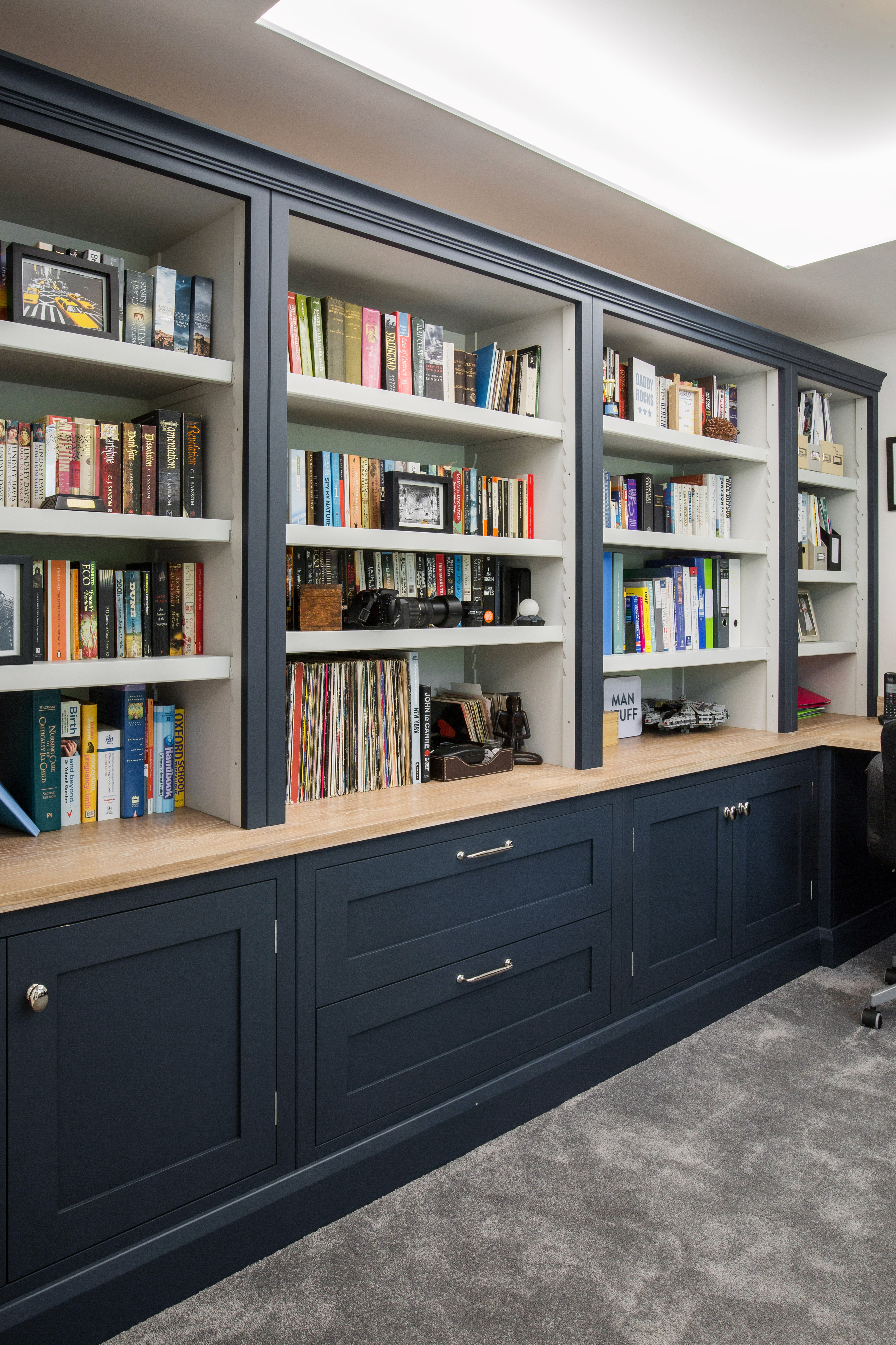 When Designing Your Home Office Scheme, Important Factors To Consider Are  Storage Solutions, Desk Positioning, Shelving And Built In Cupboards.