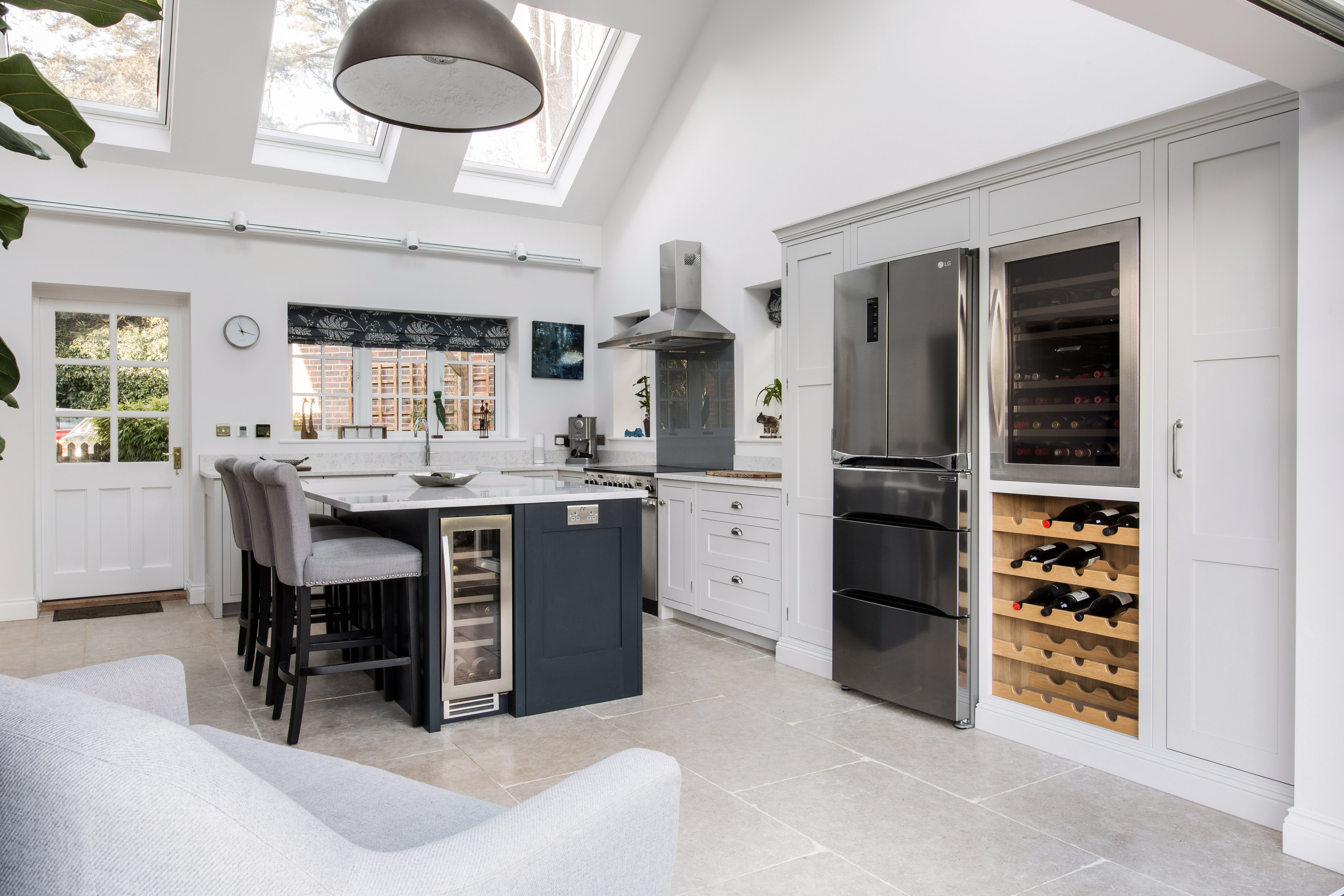 A Beautiful Kitchen Extension With Floods Of Natural Light | Bespoke ...