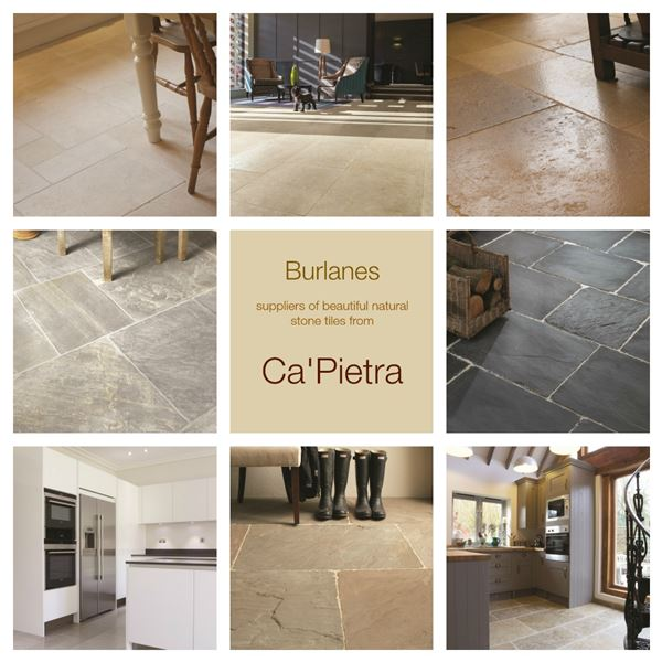 Beautiful Natural Stone Tiles from Ca'Pietra