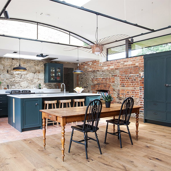A Kent oast house renovation: kitchen