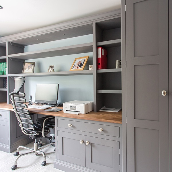 Bespoke, Handmade Storage Solutions For A New Build Home
