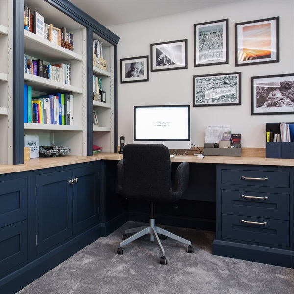 A Bespoke Home Office Solution For A Busy Working Family