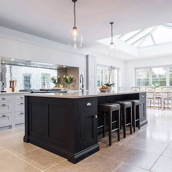 A Beautiful, Open Plan Traditional Kitchen