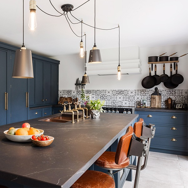 The Blue Decolane Kitchen In Upminster