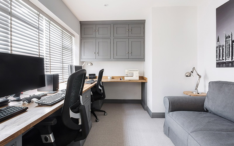 Handmade Dual Office Space   Corringham