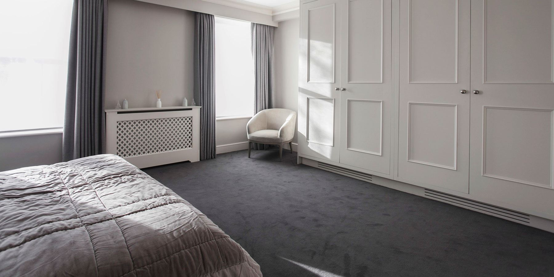 Your bedroom is a sanctuary to escape daily life - Burlanes design consultants offer a start to finish bespoke, interiors service