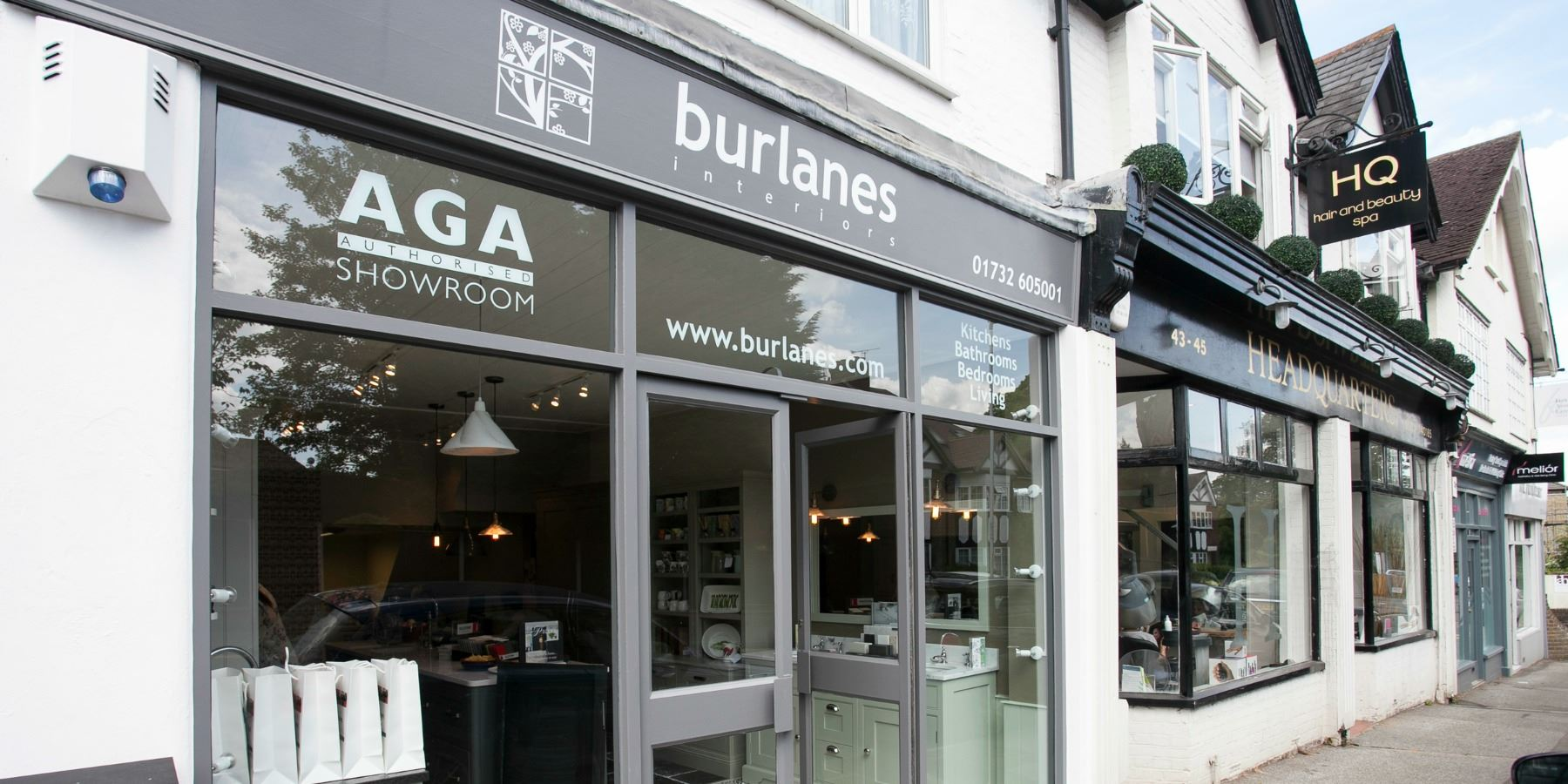 Burlanes Interiors - Sevenoaks Kitchen Showroom