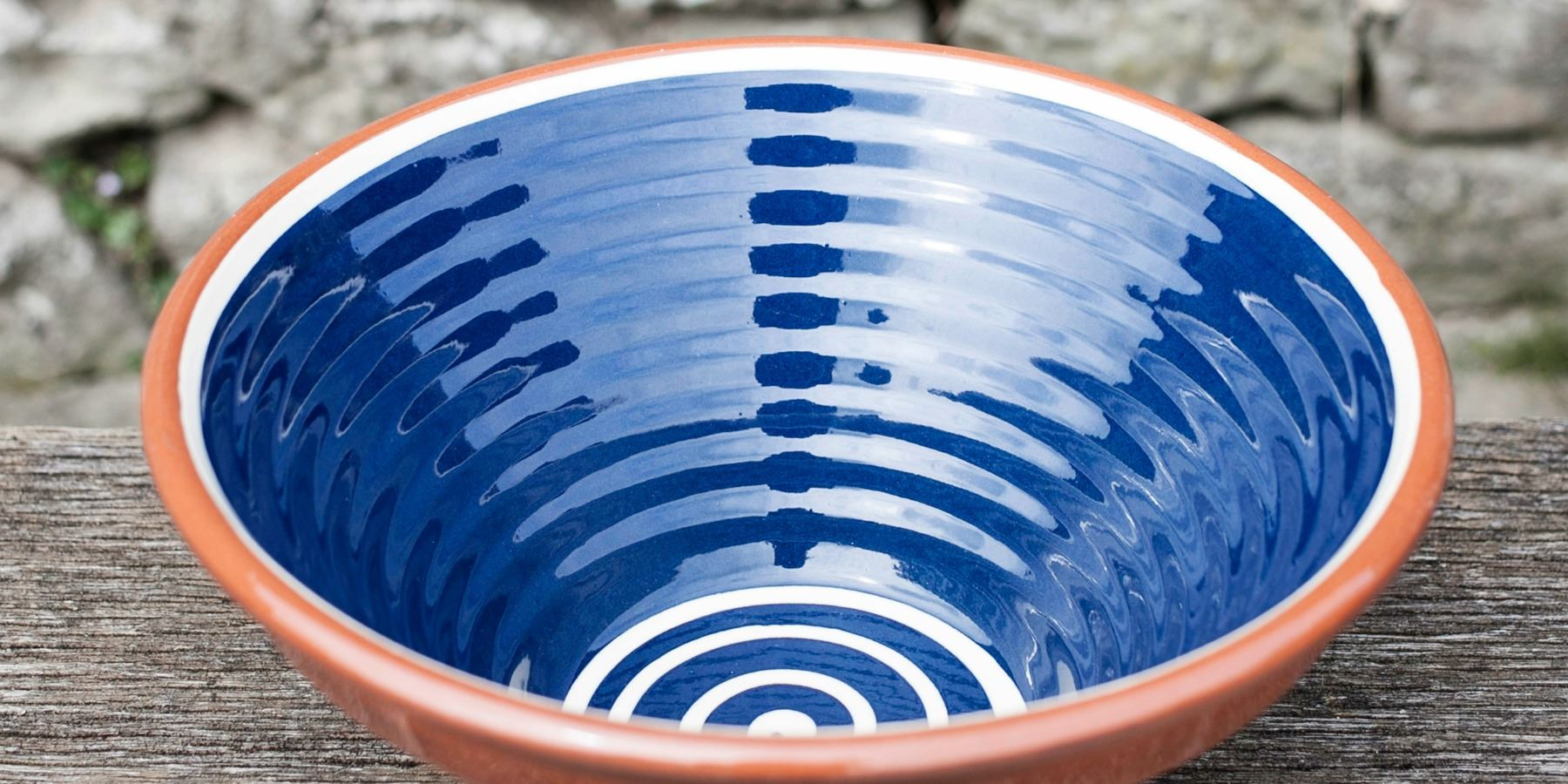 Burlanes Interiors - Win a Burlanes Blue ribbed terracotta bowl