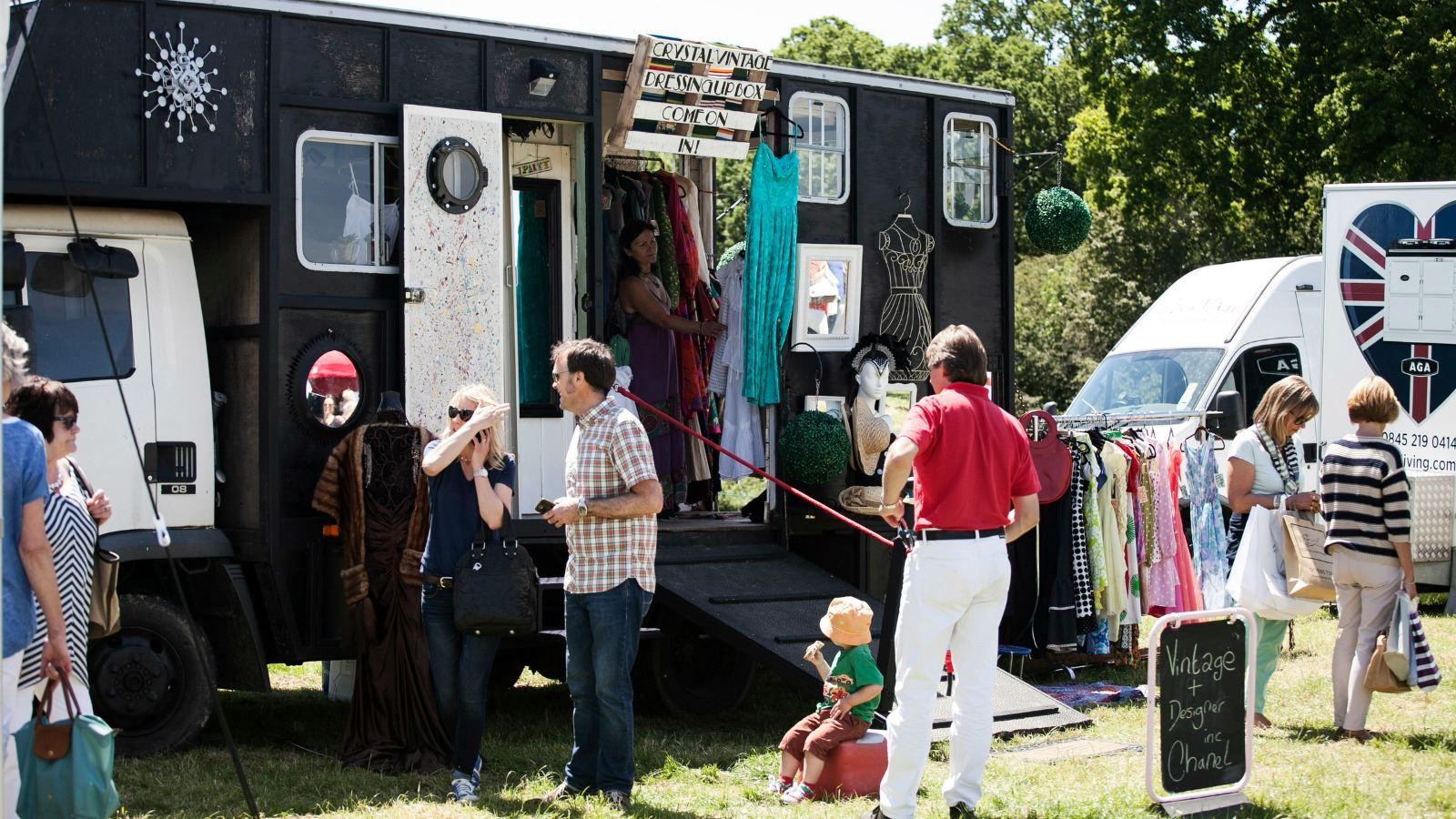 Burlanes Interiors - Wealden Times Midsummer Fair 2015