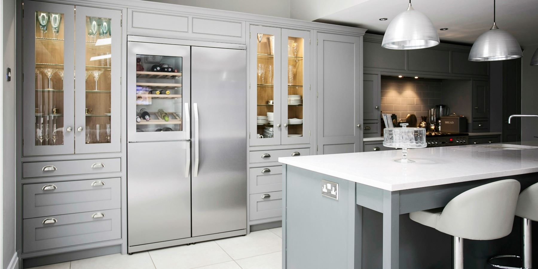 Burlanes created a sophisticated, sociable kitchen  -
