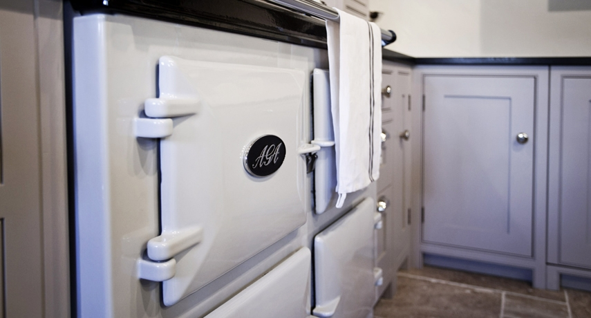 AGA - Being a British based company, AGA was the natural choice for our showroom.