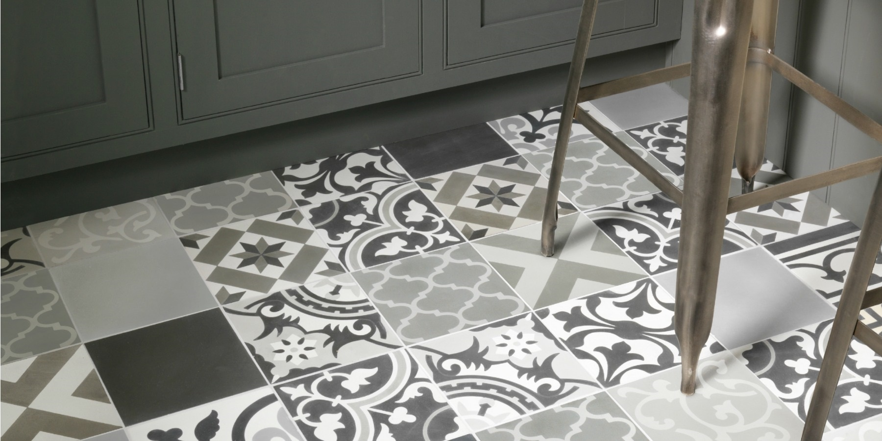 Ca'Pietra Encaustic Tiles - Burlanes are official suppliers of beautiful Ca'Pietra handmade Encaustic tiles and flooring.