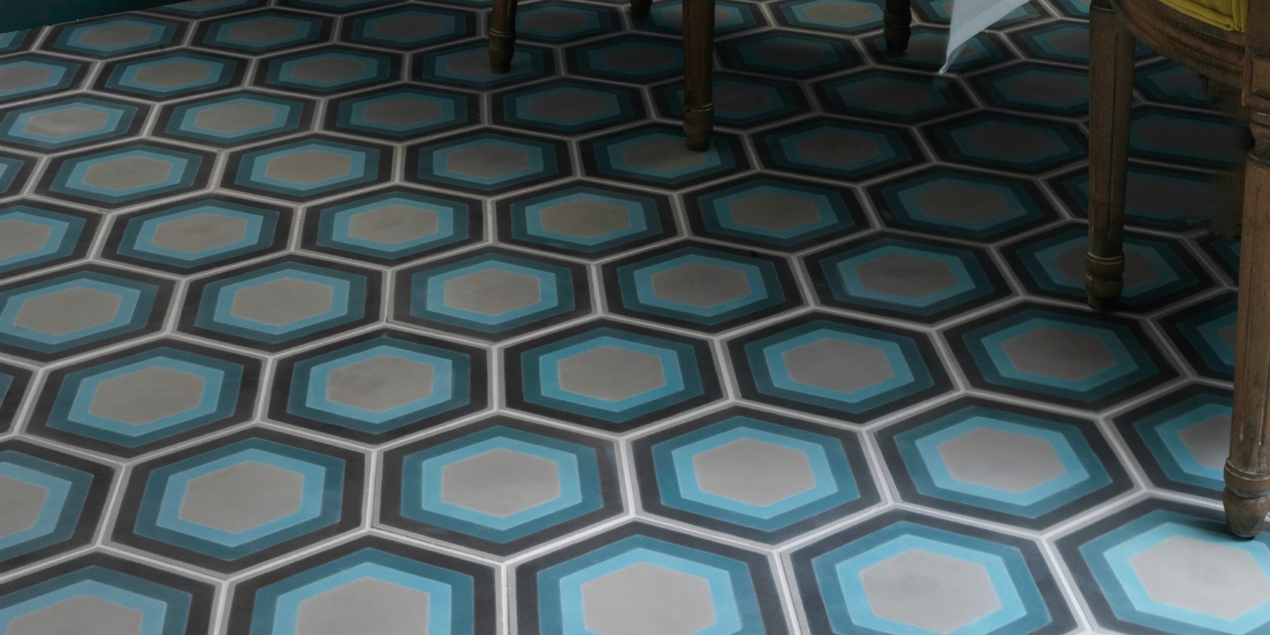 Burlanes Interiors - Handmade Encaustic tiles by Ca'Pietra